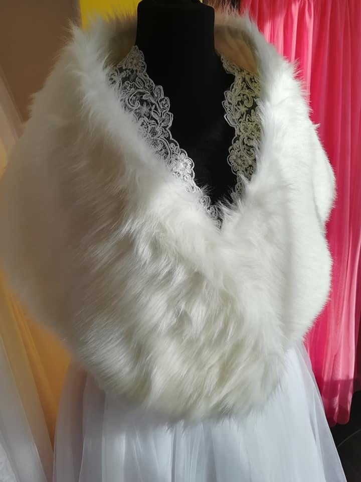 Svadobný kožúšok